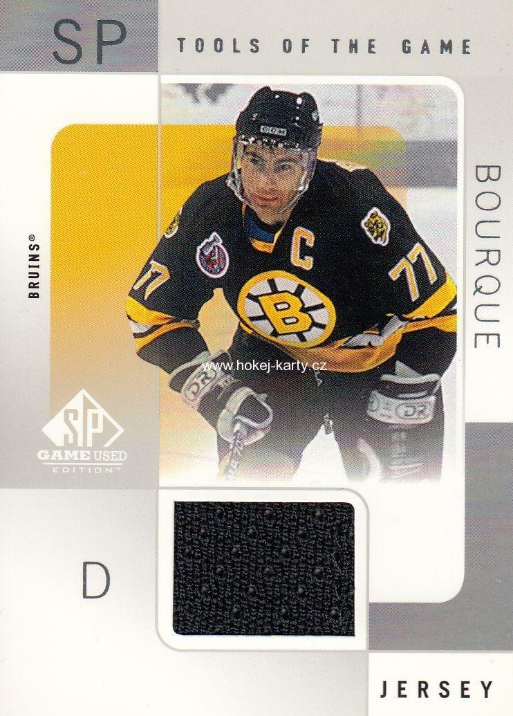 Jersey Karty Nhl Jersey Karta Ray Bourque 00 01 Spgu Tools Of The